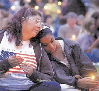Sept 11 candlelight vigil