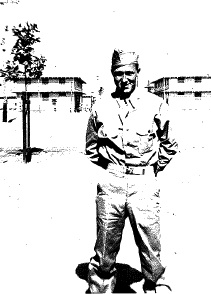 "Angela's grandfather, Jerome Lawrence ""Bud"" Sciborski, 1921-1996, served in the U.S. Army Signal Corps in Alaska during World War II. He was a Cryptographer."