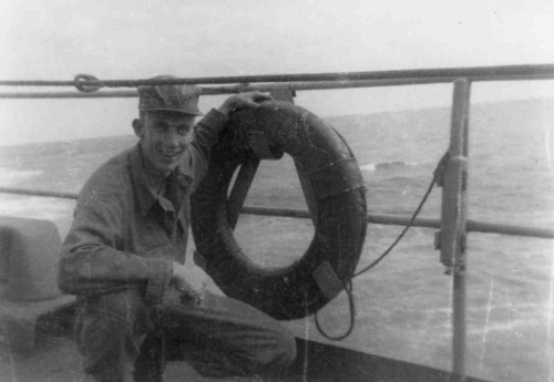"""Christine's father, Robert C. """"Bob"""" Martenson, 1934-1968, served in the U.S. Army during the Korean War."""