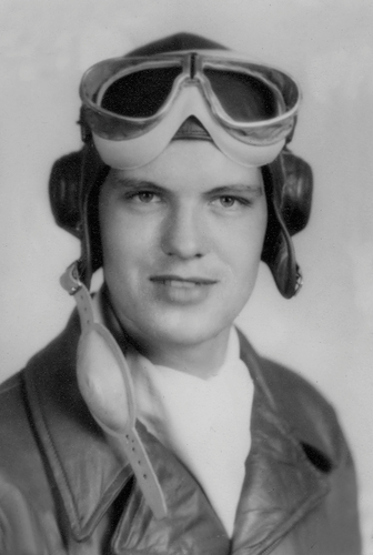 """Linnea's great uncle, Charles """"Cliff"""" Miller, 1924-1999, retired from the U.S. Air Force as a Lt. Colonel.  He was a pilot at the end of World War II, continuing as a transport pilot for the U.S. Air Force until arthritis grounded him to a desk job."""