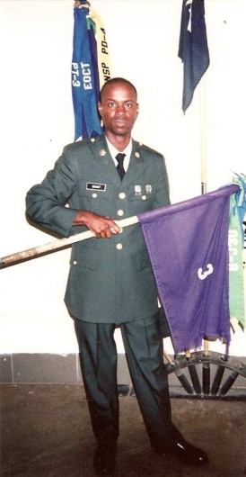 Lisa's brother in law, Tyrone Grant, 1967-2009, served in the U.S. Army and was her husband's beloved younger brother.