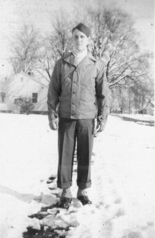 Megan's grandfather, Dean Shull, 1924-1985, served in the U.S. Army.