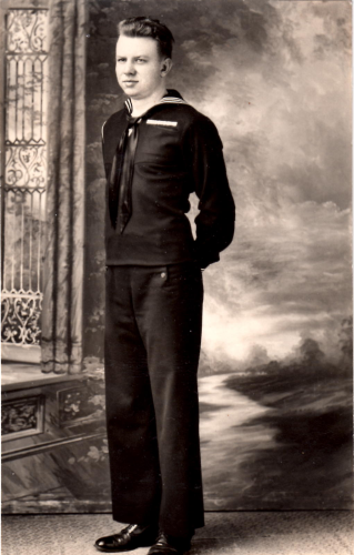 Richard's father, John Snowden, 1926-1987, served in the U.S. Navy during the latter part of World War II, entering in 1944 and serving aboard an armed transport ship in the Atlantic Ocean until his discharge in 1946.