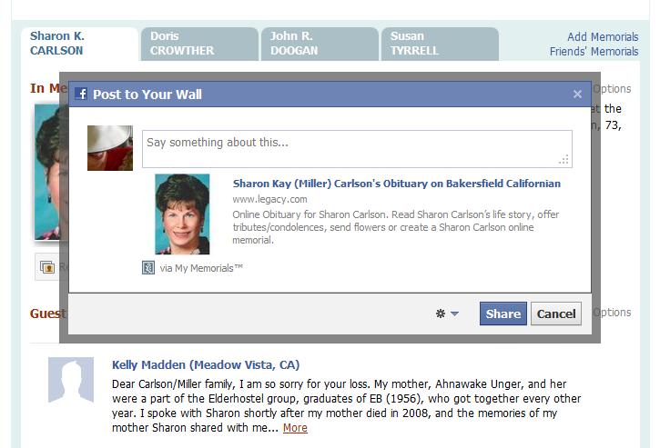 facebook information system