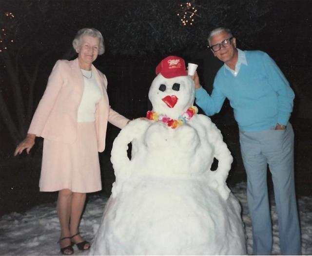 """""""1986 Bobbie, Everett, snowgirl."""" Photo submitted to Roberta Ann """"Bobbie"""" Snider's Guest Book, published in Arizona Republic."""