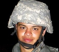Pfc. Sammie E. Phillips (Photo via Madison Courier)